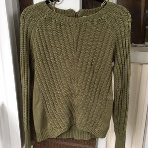 2/20 Ruby Moon Olive Green Sweater